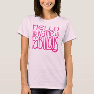 De Fabelachtige Donkere T-shirt van Hello