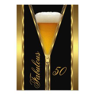De fabelachtige Elegante Drank van het Bier van 11,4x15,9 Uitnodiging Kaart