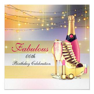 De fabelachtige Stiletto van Champagne van de Kaart