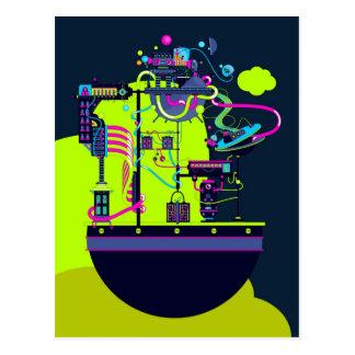 De Fabriek van het monster Briefkaart