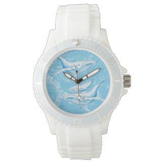 De Familie van Blauwe vinvissen Horloge