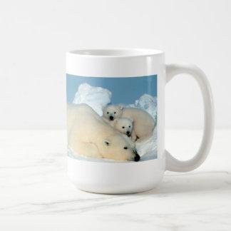 De Familie van de Ijsbeer Koffiemok