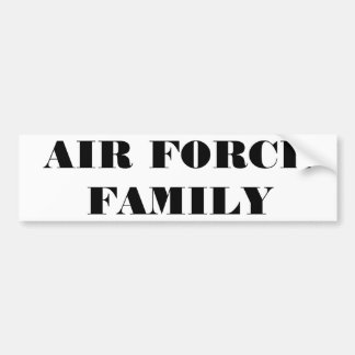 De Familie van de Luchtmacht van de Sticker van de Bumpersticker