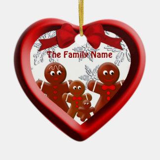 De Familie van de peperkoek van het Ornament van