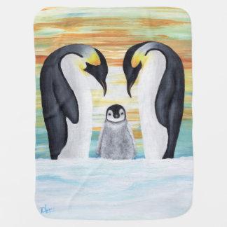 De Familie van de pinguïn met de Pinguïn van het Inbakerdoek
