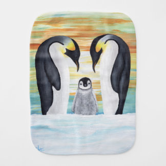 De Familie van de pinguïn met de Pinguïn van het Monddoekje