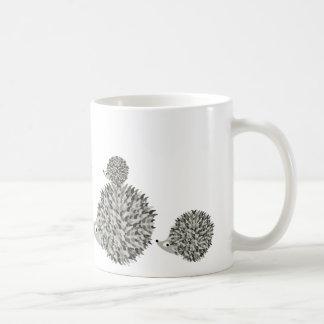De familie van egels koffiemok