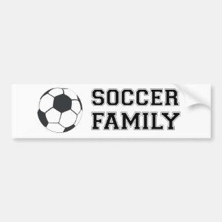 De Familie van het voetbal Bumpersticker