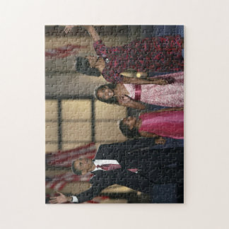 De familiegolf van Obama van Barak Foto Puzzels