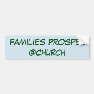 De families bloeien @Church sticker