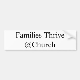 De families bloeien @Church sticker