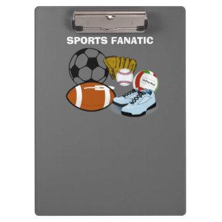 De Fanaticus van sporten Klembord