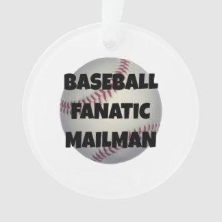 De Fanatieke Brievenbesteller van het honkbal Ornament