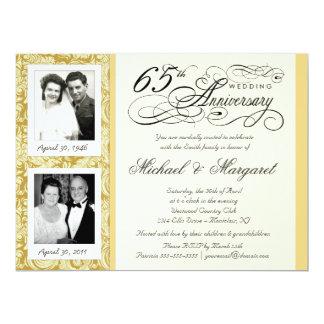 De fancy 65ste Uitnodigingen van de Verjaardag - t