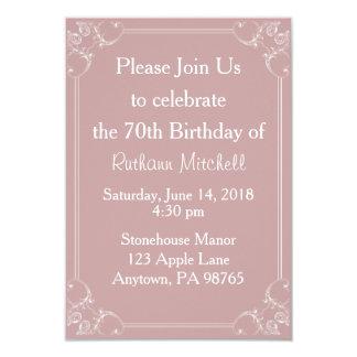 De fancy Uitnodiging van de Verjaardag van het