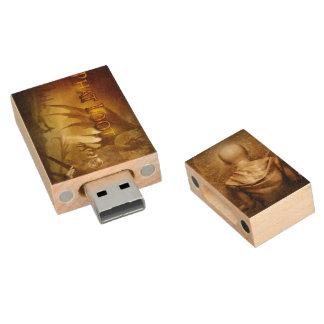 De fantasie USB van de Buit van Phat Houten USB 2.0 Stick