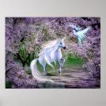 De fantasie van de Eenhoorn van de lente Plaat