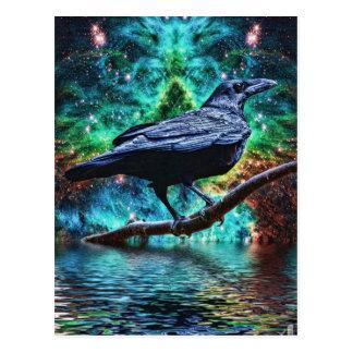 De fantastische Raaf van de Nacht Briefkaart