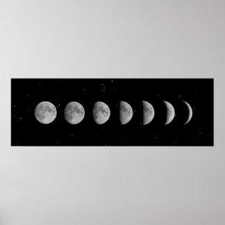 De Fasen en de Sterren van de maan Poster
