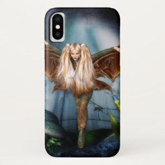 De Fee van de Fantasie van de blonde iPhone X Hoesje