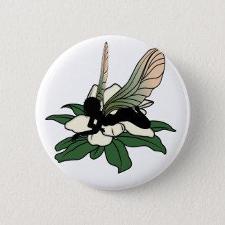 De Fee van de Schaduw van de magnolia Ronde Button 5,7 Cm