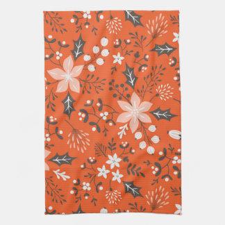 De feestelijke Botanische Handdoek van de Keuken