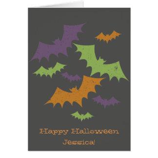 De feestelijke Kaart van Halloween van Knuppels
