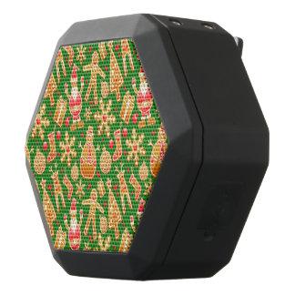 De feestelijke Kerstman en Peperkoek van de Zwarte Bluetooth Speaker