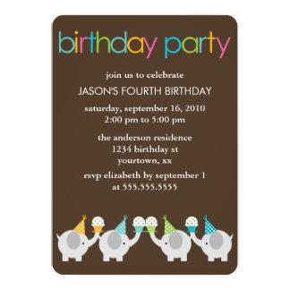 De feestelijke Partij van de Verjaardag van Kaart