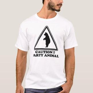 De Feestneus van de voorzichtigheid T Shirt