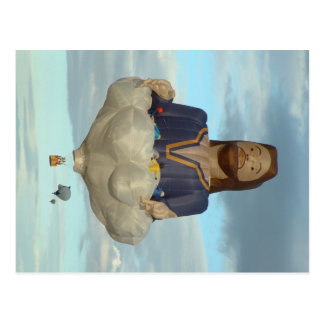 De Fiesta Albuquerque Jesus van de ballon Lord Briefkaart
