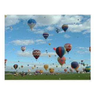 De Fiesta Albuquerque van de ballon Briefkaart