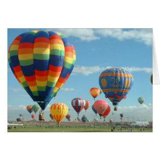 De Fiesta Albuquerque van de ballon Briefkaarten 0