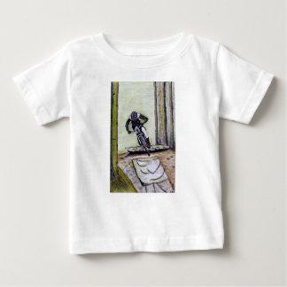 De fiets Llandegla van de berg mtb bmx Baby T Shirts
