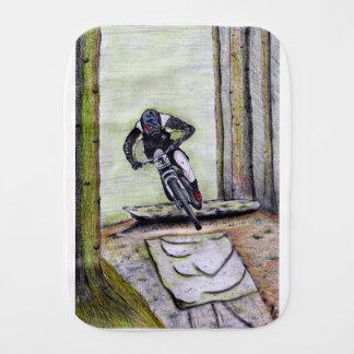 De fiets Llandegla van de berg mtb bmx Spuugdoekje