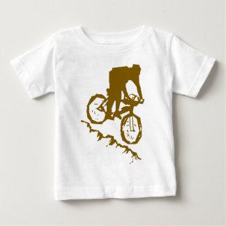 De Fiets van Biking van de berg Baby T Shirts