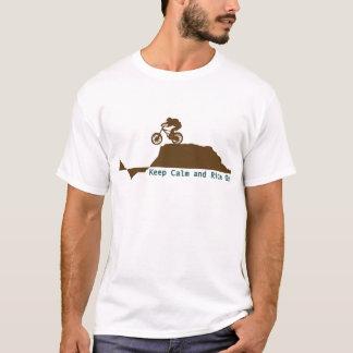 De Fiets van de berg - houd Kalm T Shirt