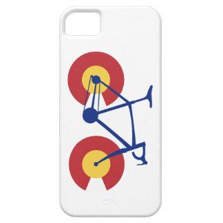 De Fiets van de Vlag van Colorado Barely There iPhone 5 Hoesje