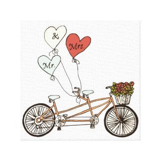 De fietsM. van de liefde & Mevr. verpakt canvas