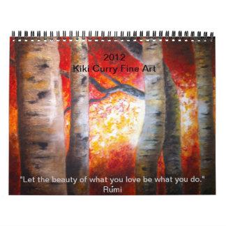 De fijne Kalender van de Kunst door Kiki Curry