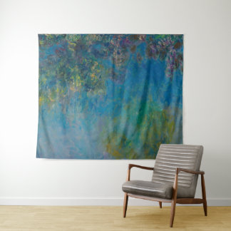 De Fijne Kunst BloemenGalleryHD van Claude Monet Wandkleed
