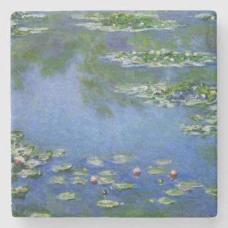 De Fijne Kunst van de Waterlelies van Monet (1906) Stenen Onderzetter