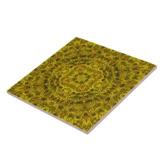 De FiligraanTegel Mandala van Goldweb Keramisch Tegeltje