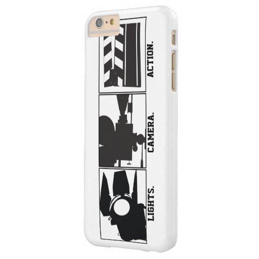 De Film Movie Maker van de Actie van de Camera van iPhone 6 Plus Barely There Case