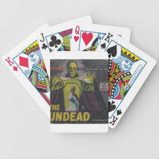 De film van de Zombie Undead Bicycle Speelkaarten