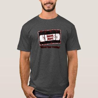 De Films van de verschrikking - Video Donkerrode T Shirt