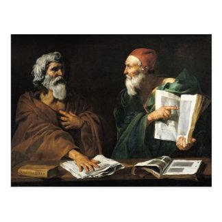 De filosofen briefkaart