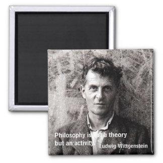 De filosofie is een theorie maar geen… koelkast magneet