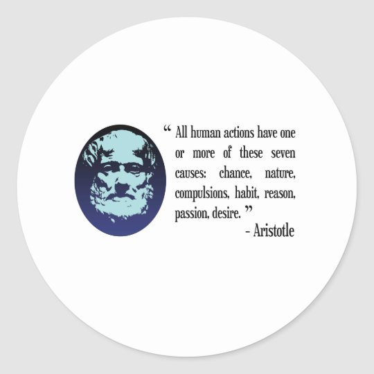 Filosofische Citaten Over Vrijheid : De filosofische citaten van aristoteles stickers zazzle