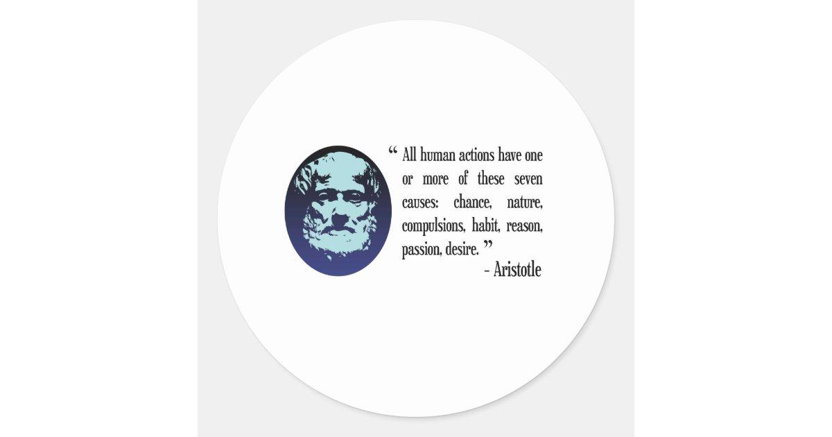 Filosofische Citaten Leeftijd : De filosofische citaten van aristoteles stickers zazzle